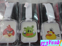 Headphone Angry Bird cực teen